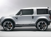 2020 Land Rover Defender looks a lot like the 2011 Land Rover DC100 concept - image 861694