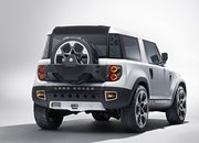 2020 Land Rover Defender looks a lot like the 2011 Land Rover DC100 concept - image 861696