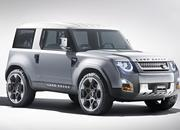2020 Land Rover Defender looks a lot like the 2011 Land Rover DC100 concept - image 861698