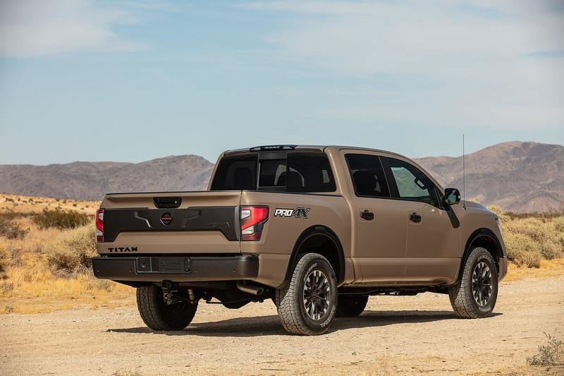 2020 Nissan Titan Debuts with more powerful V-8; Diesel engine discontinued