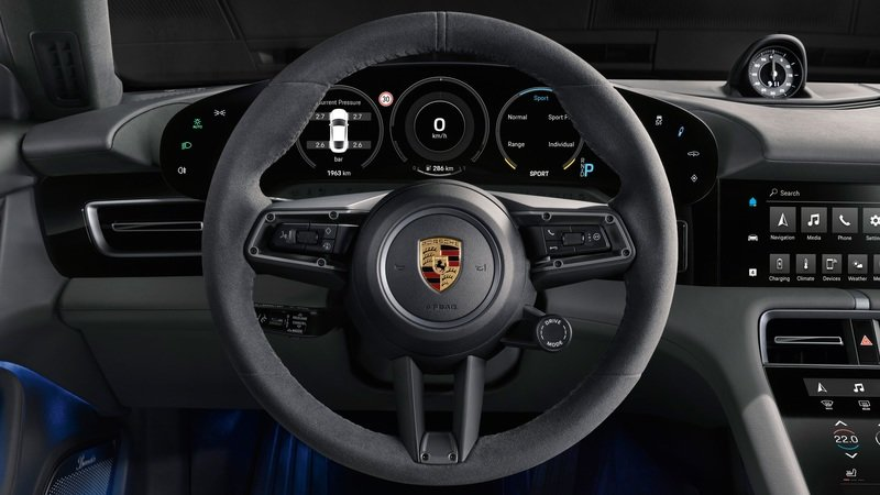 Porsche Taycan Walkaround - Your First Real Look at the Interior