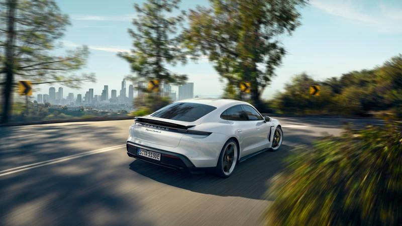 The Porsche Taycan Is Cool and All, But It's Not as Quick as the Tesla Model S Exterior - image 859462