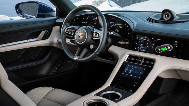 Porsche Taycan Walkaround - Your First Real Look at the Interior Interior - image 859478