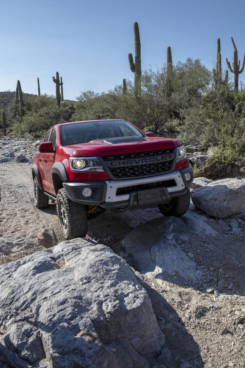 AEV To Take the Chevy Colorado ZR2 Bison To the Next Level at SEMA 2019