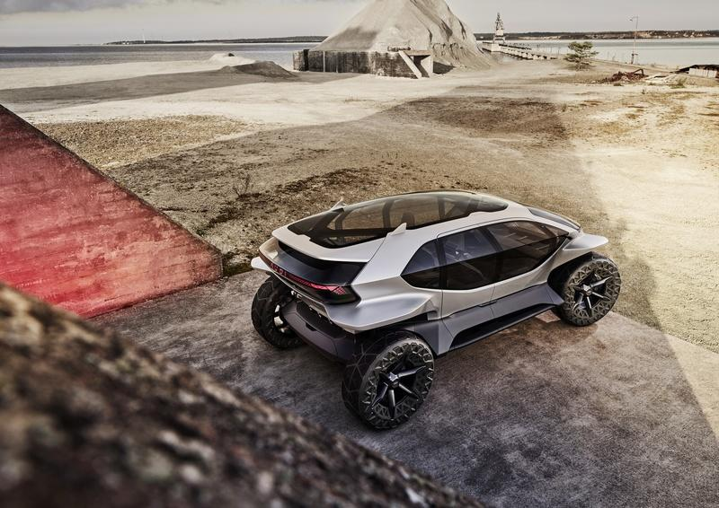 Audi Just Upped Its Go-Anywhere Game With the AI:TRAIL Concept Exterior - image 861046