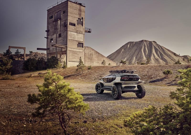 Audi Just Upped Its Go-Anywhere Game With the AI:TRAIL Concept