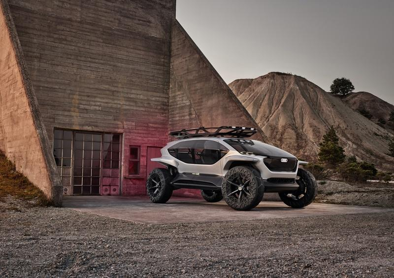 Audi Just Upped Its Go-Anywhere Game With the AI:TRAIL Concept Exterior - image 861053