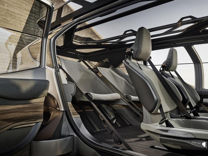 Audi Just Upped Its Go-Anywhere Game With the AI:TRAIL Concept Interior - image 861034