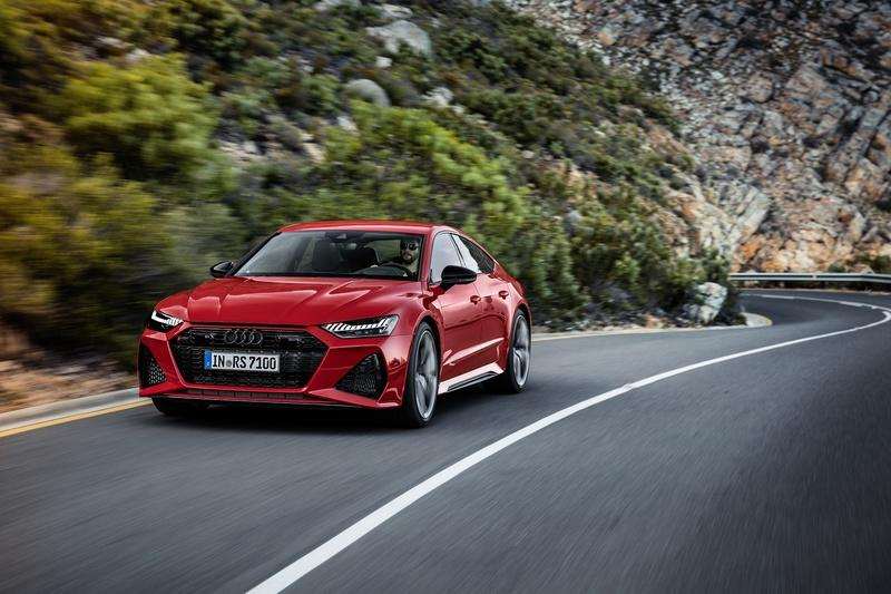 Audi's New RS7 Sportback Finally Has a Look to Call Its Own