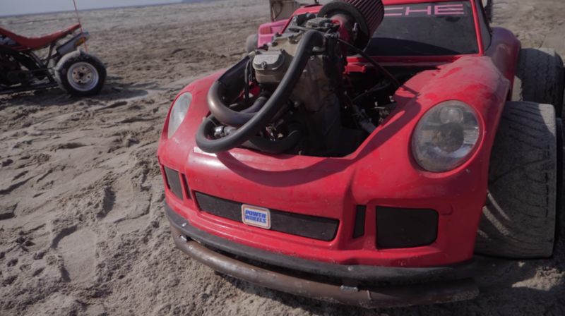 Bet You Never Thought You'd See a Porsche 911 GT3 That's Powered By a Motorcycle Engine