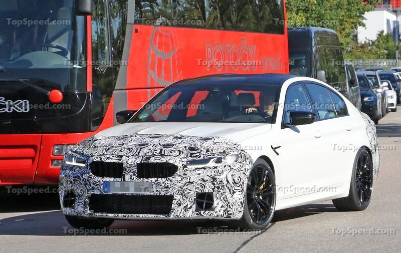 The 2024 BMW M5 Will Be Proof That Electric M Models Are Possible or Will It? Exterior Spyshots - image 862185