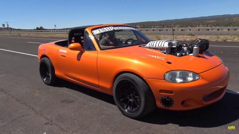 Car for Sale: Hellcat-Swapped 1999 Mazda Miata