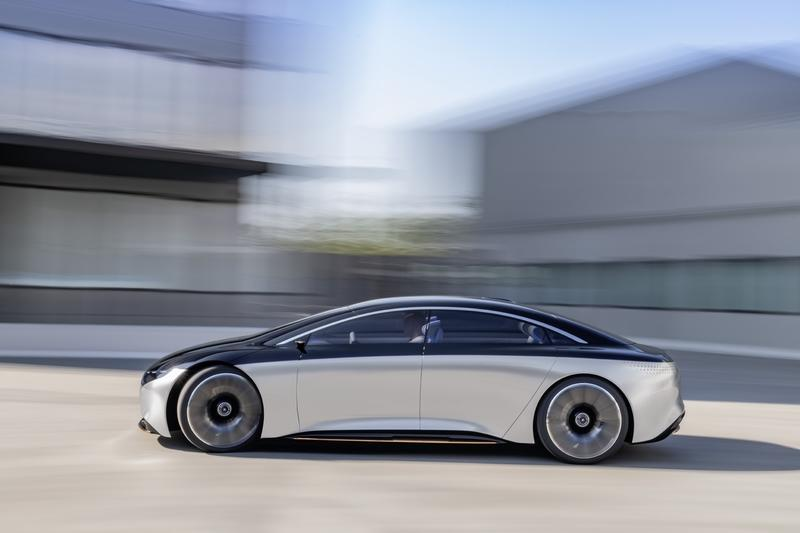 The Mercedes EQS Could Eat The Tesla Model S with 435 Miles of Electric Range