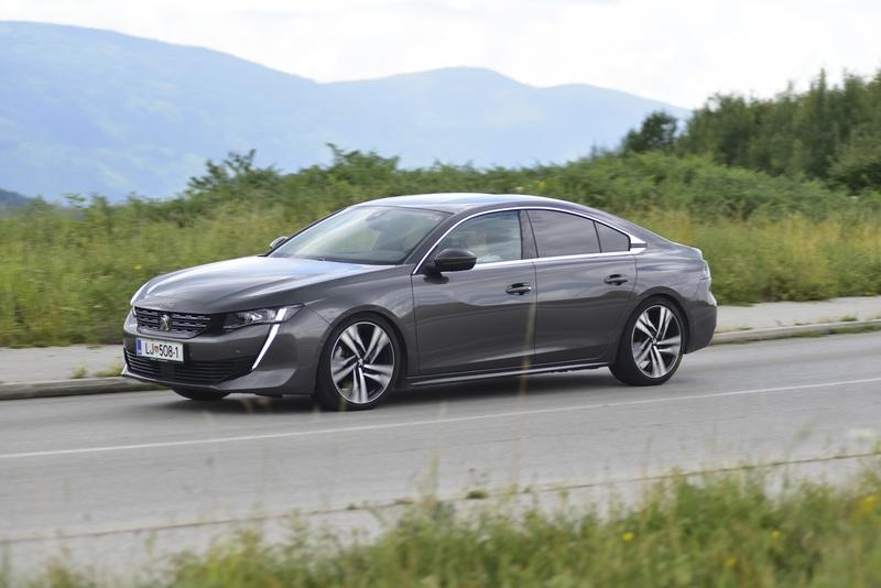 2019 Peugeot 508 Allure 2.0 BlueHDi 180 S&S EAT8 Driven