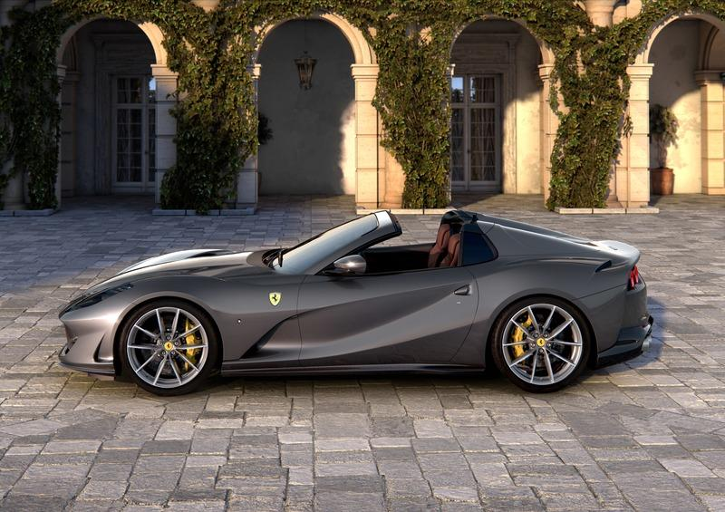 Cool Quirks About The New Ferrari 812 GTS Exterior - image 860166