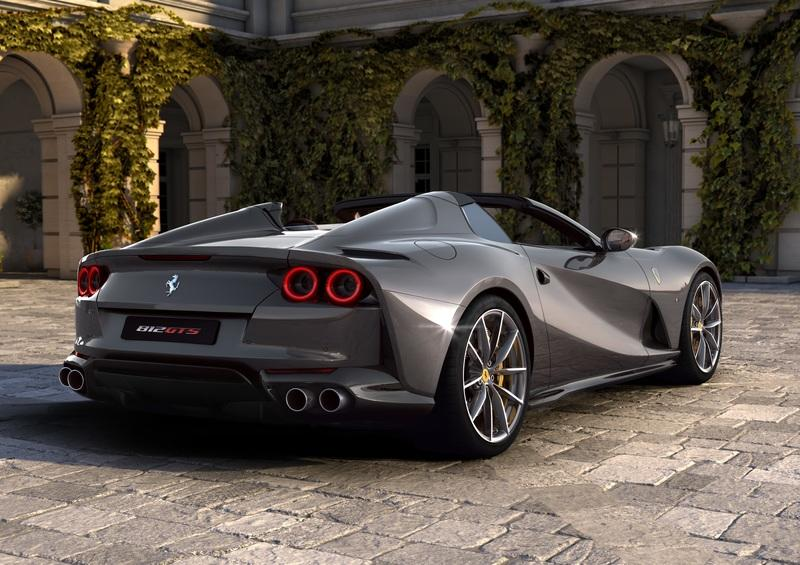 Cool Quirks About The New Ferrari 812 GTS Exterior - image 860167