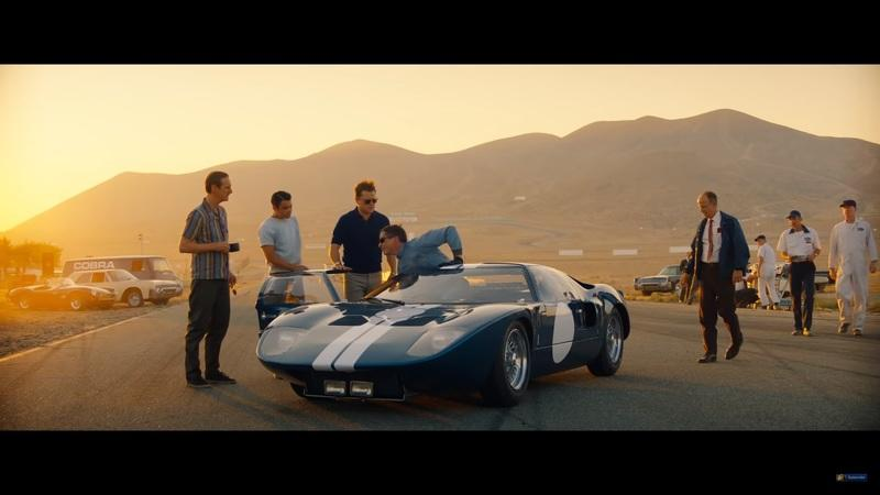 Ford vs. Ferrari Trailer 2 - Lots of Racing Drama