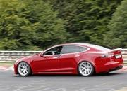 Here's That Video of the Tesla Model S Tearing Up Laguna Seca - Is Another Record Attempt Coming? - image 861622