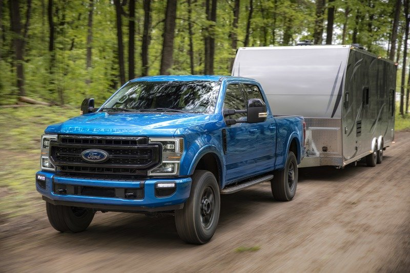 How Much Can the 2020 Ford Super Duty Tow? A lot!