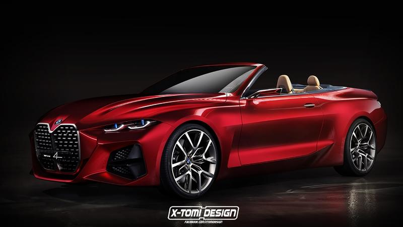 A New Rendering Hints at What the Next-Gen BMW 4 Series Cabrio Could Look Like