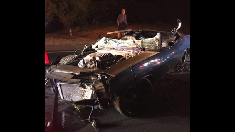 Kevin Hart's Hellcat-Swapped 1970 Plymouth Barracuda Destroyed In Crash - Was It His Fault, Though?