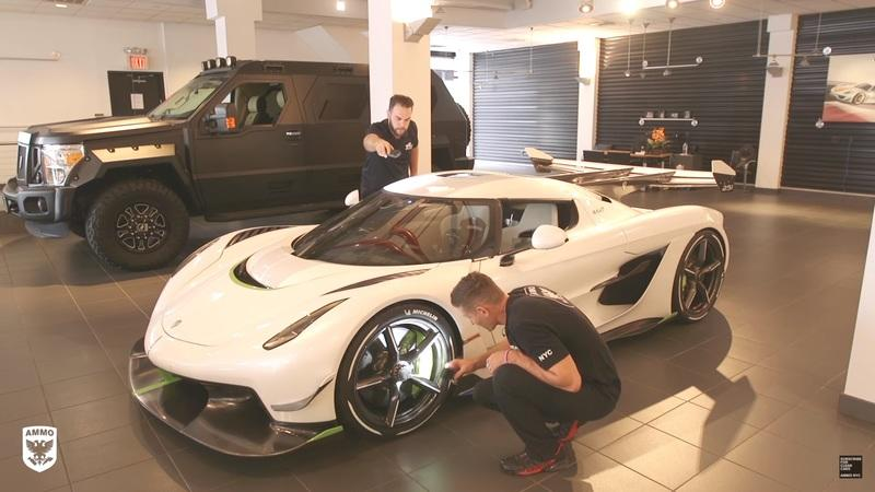 Koenigsegg Put Massive Amounts of Paint on the Jesko Supercar - image 864053