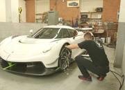 Koenigsegg Put Massive Amounts of Paint on the Jesko Supercar - image 864054