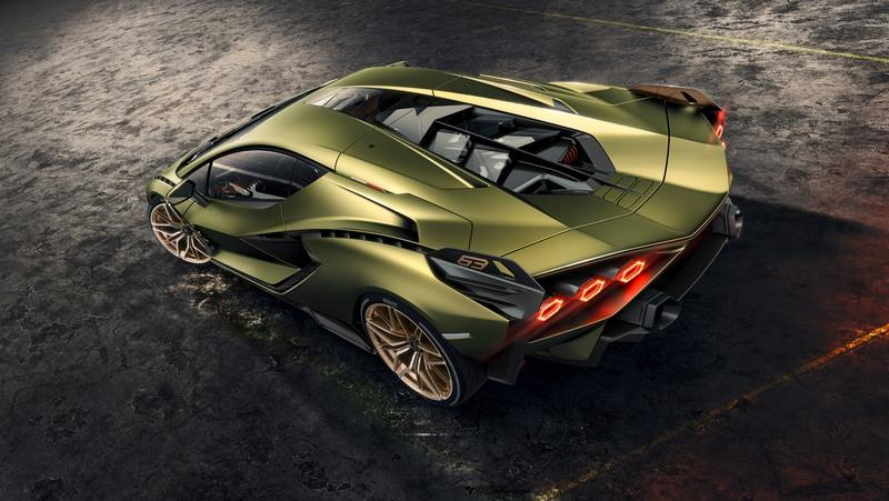 The 2020 Lamborghini Sian is Lambo's first hybrid and its most powerful car!