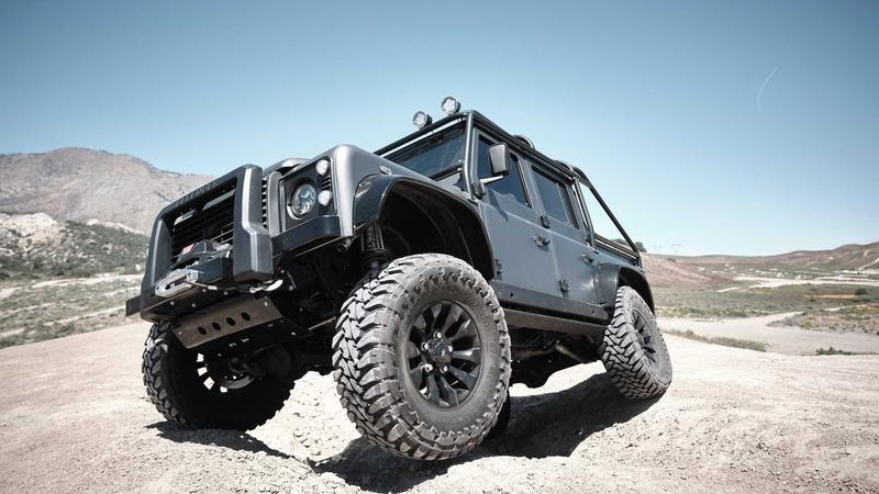 2019 Land Rover Defender Spectre by Himalaya