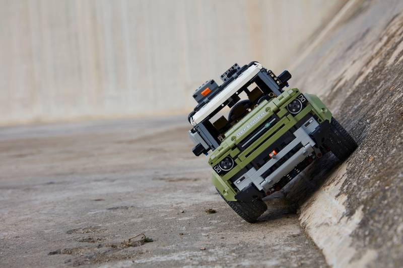 Lego Technic Land Rover Defender Set - Not Your Typical Desk Queen