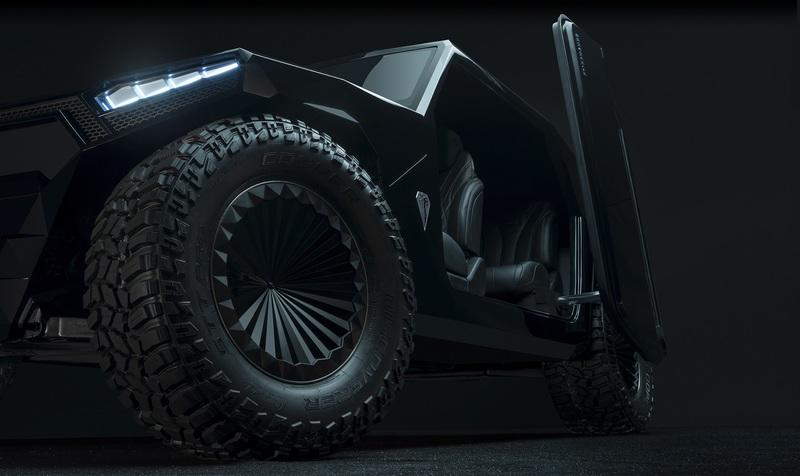 Ramsmobile's 999-Horsepower RM-X2 Is Out For Rezvani Tank Blood - image 861816