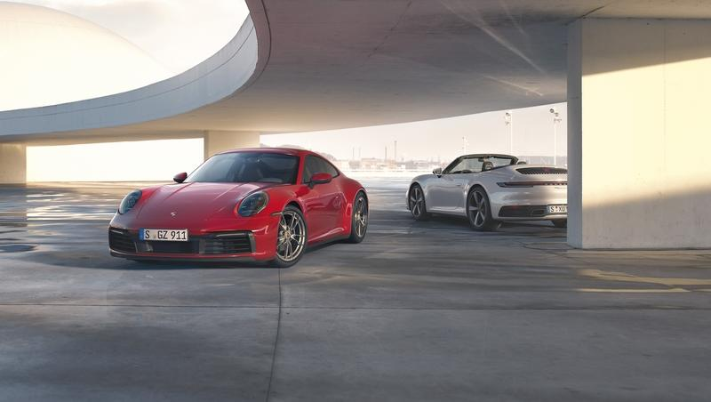 Say Hello to the 2020 Porsche 911 Carrera 4 and Carrera 4 Cabriolet