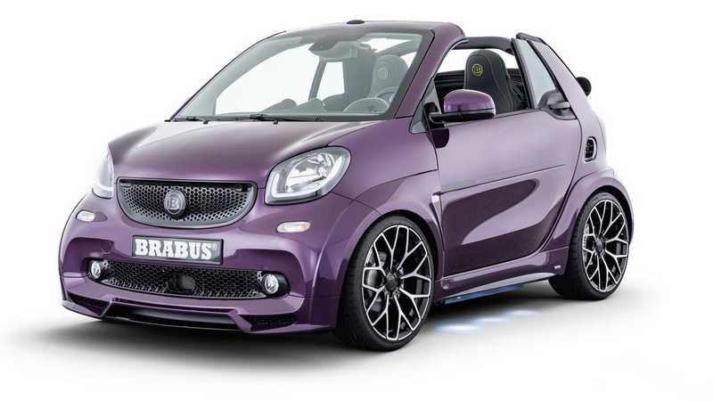 2020 Smart EQ Fortwo Ultimate E Cabrio by Brabus