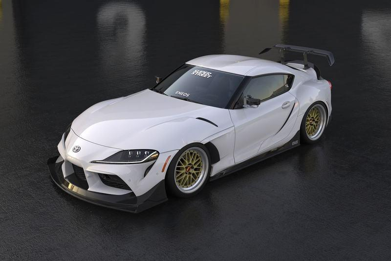 Someone Is Preparing a Widebody Toyota Supra For SEMA and We Can't Get Enough of It