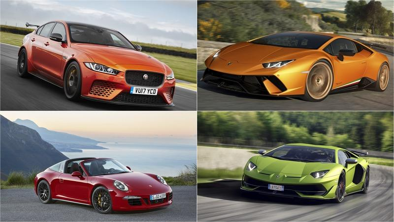 The 10 Fastest AWD Sports Cars Ranked