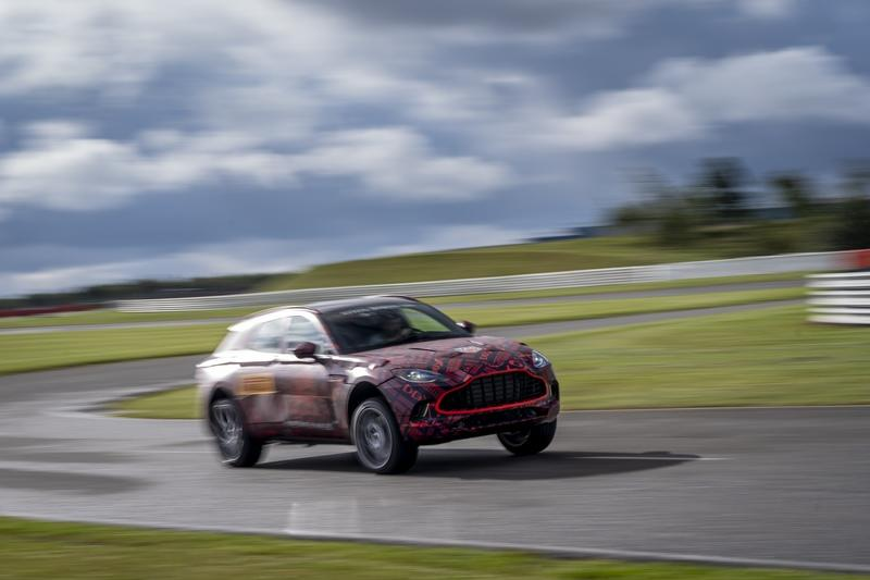 The 2020 Aston Martin DBX Will Have AMG-Sourced Power, But It's More than We Expected - image 863621