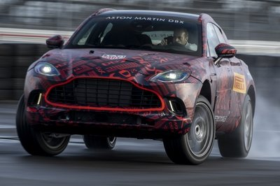 The 2020 Aston Martin DBX Will Have AMG-Sourced Power, But It's More than We Expected