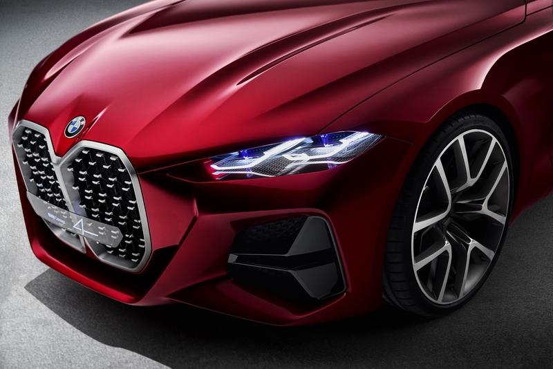 The BMW Concept 4 Makes It Clear That BMW Has a Grille Problem