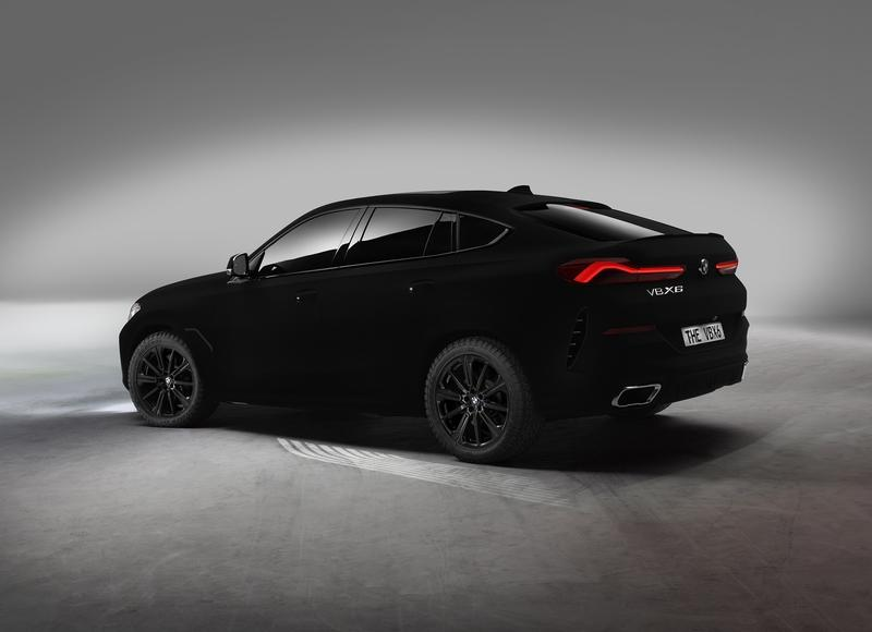 The BMW X6 Vantablack Is a Real Thing...If You Can See It Exterior - image 861372
