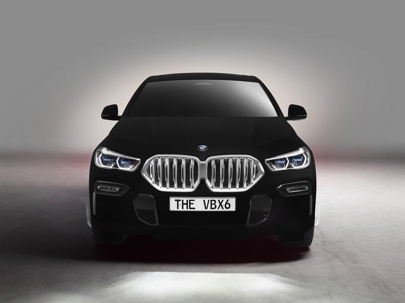The BMW X6 Vantablack Is a Real Thing...If You Can See It Exterior - image 861374