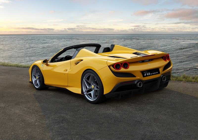Wallpaper of the Day: 2020 Ferrari F8 Spider