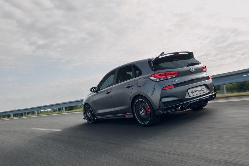 The 2020 Hyundai i30 N Project C Is the Hot Hatch We Deserved From the Beginning Exterior - image 860563
