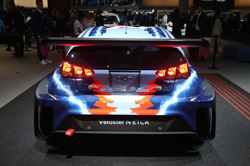 The Hyundai Veloster N ETCR Is a Wild RWD Electric Race Car
