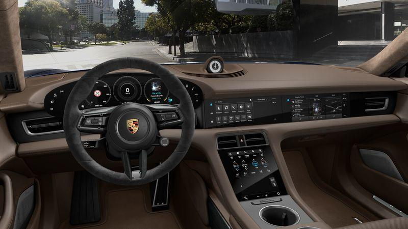 The Porsche Taycan Gets Ludicrously Expensive with Options
