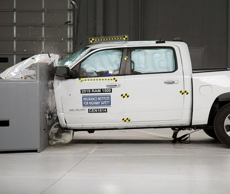 The Ram 1500 Is Officially The First Full Size Pickup to Earn an IIHS Top Safety Pick + Rating