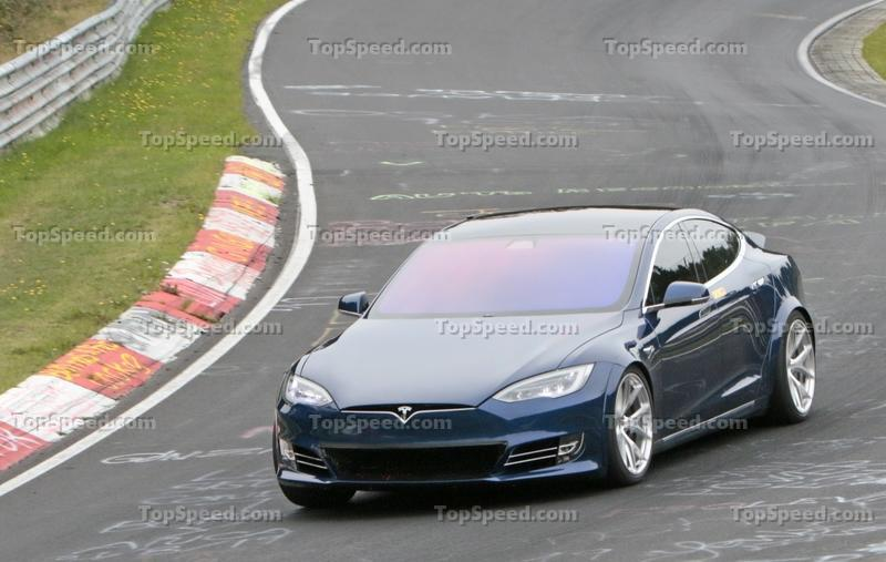 The Tesla Model S Plaid May Have Beaten the Taycan Around the Nurburgring