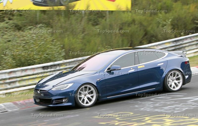 The Tesla Model S Plaid May Have Beaten the Taycan Around the Nurburgring Exterior Spyshots - image 862404