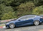 The Tesla Model S Plaid May Have Beaten the Taycan Around the Nurburgring - image 862405