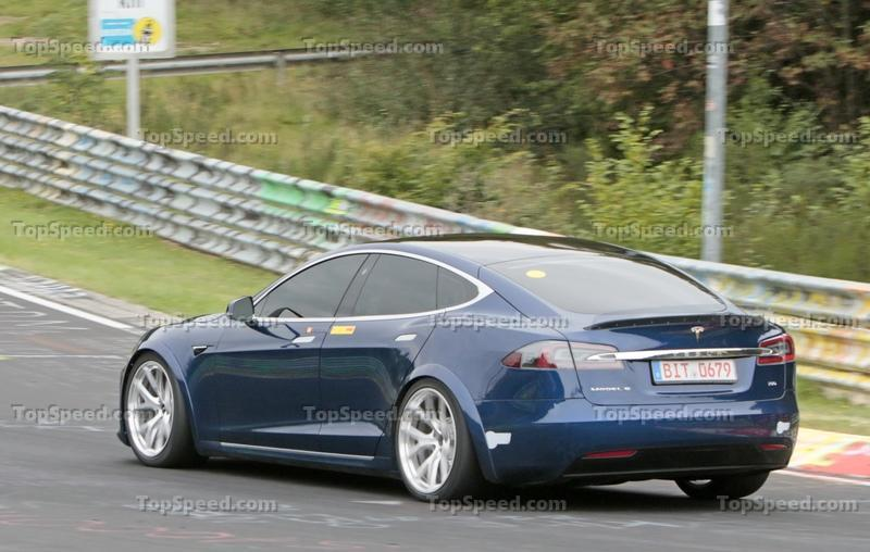 The Tesla Model S Plaid May Have Beaten the Taycan Around the Nurburgring Exterior Spyshots - image 862408