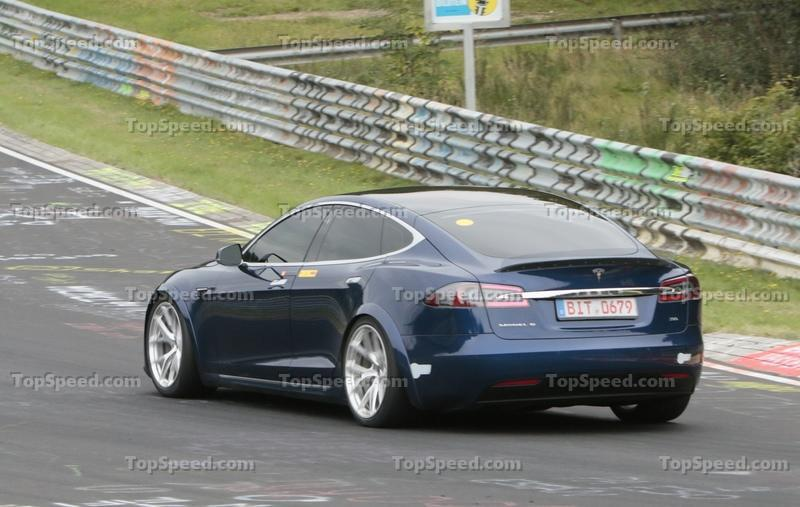 The Tesla Model S Plaid May Have Beaten the Taycan Around the Nurburgring Exterior Spyshots - image 862409